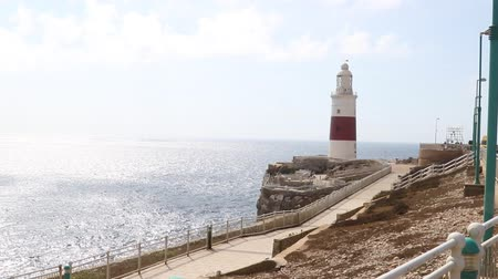 Gibraltar, United Kingdom, 2nd October 2018:-Trinity House, Lighthouse, Europa Point, Gibraltar. Gibraltar is a British Overseas Territory located on the southern tip of Spain.