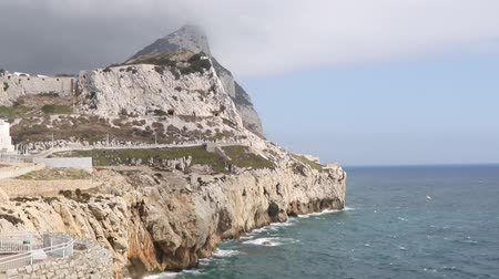 iberian : Gibraltar, United Kingdom, 2nd October 2018:-Ibrahim-al-Ibrahim Mosque, Europa Point, Gibraltar. Gibraltar is a British Overseas Territory located on the southern tip of Spain.