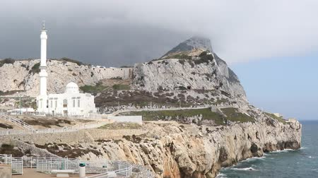 Gibraltar, United Kingdom, 2nd October 2018:-Ibrahim-al-Ibrahim Mosque, Europa Point, Gibraltar. Gibraltar is a British Overseas Territory located on the southern tip of Spain.