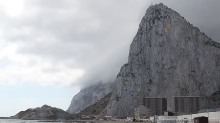 iberian : Gibraltar, United Kingdom, 2nd October 2018:- The Rock of Gibraltar. Gibraltar is a British Overseas Territory located on the southern tip of Spain.