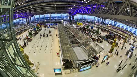 time machine : v23. Time lapse at BKK airport.