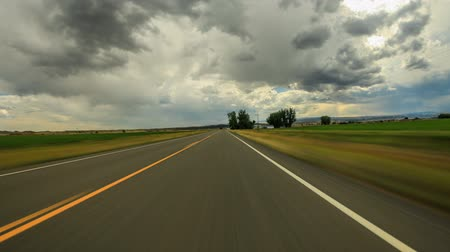 ingázó : v71. Driving time lapse through SW Montana area.