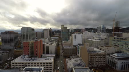beautiful view : v14. Low flying Portland aerial through downtown. 112714
