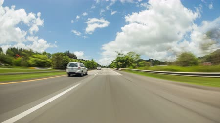motorkerékpár : v107. Driving time lapse through Puerto Rico.