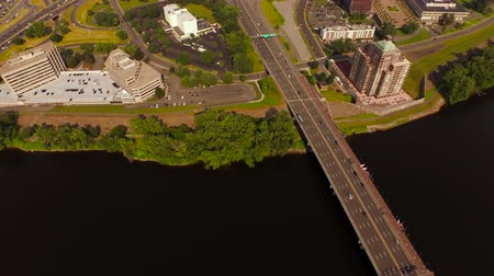 stoupat : Hartford Aerial v3 Flying low over downtown and panning up.