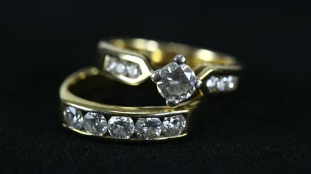 biżuteria : two diamond rings