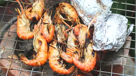 karides : Grilled shrimp