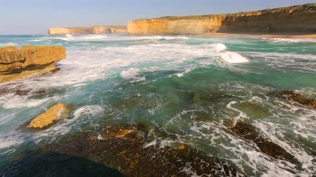 campbell : Rough seas in Victoria Australia. Great Ocean Road, Port Campbell National Park.