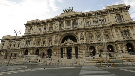 corte : Justice palace of Supreme Court of Cassation, Corte Suprema di Casazione. Is highest court of appeal of Italy in Rome. Between Umberto I bridge and Cavour Square on Tevere river. Known as Palazzaccio.