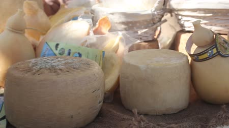 Řím : Assorted Italian cheeses