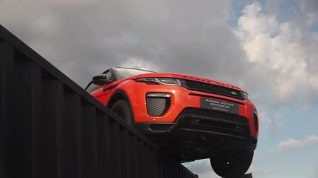 foglalat : Range Rover Evoque presented in motorshow