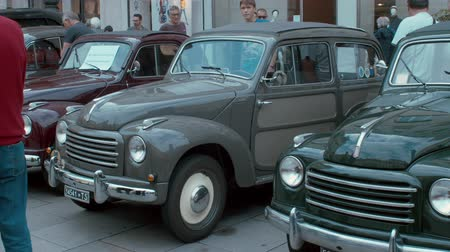 amado : TRIESTE, ITALY - OCTOBER, 01: Fiat Topolino exposed at the? National Day of the Vintage Vehicle ASI and in conjunction with the 30th anniversary of the Friends Club of Topolino foundation on October 01, 2019