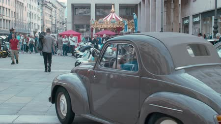 querido : TRIESTE, ITALY - OCTOBER, 01: Fiat Topolino exposed at the? National Day of the Vintage Vehicle ASI and in conjunction with the 30th anniversary of the Friends Club of Topolino foundation on October 01, 2019