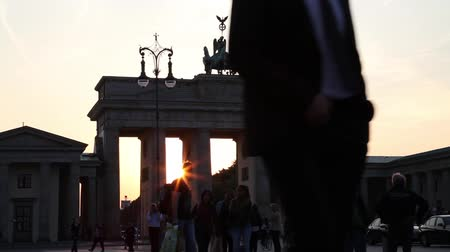 gates : traffic at the brandenburg gate