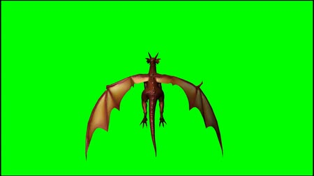 dech : dragon in flight - seperated on  green screen Dostupné videozáznamy