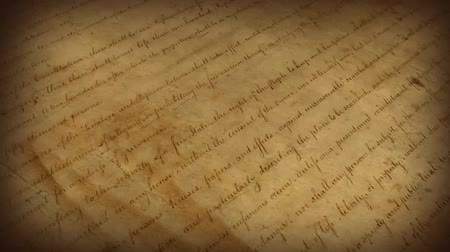 história : The Bill of Rights - motion background