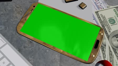 reklama : Smartphone Green Screen for Advertisement Presentation Commerce