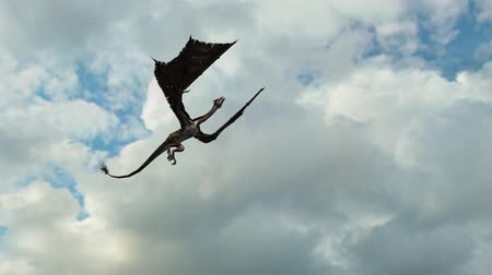 adem : Dragon in vlucht Close-Up tracking shot