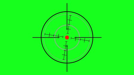 crosshair : various crosshair - green screen effect