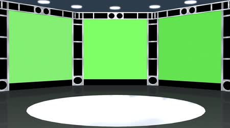 verde : video wall animation - green screen effect