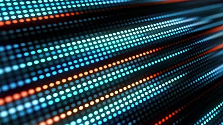 pomarańcza : blue orange dots animation - motion graphics background