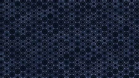 tekrarlama : hexagon grid - pulsating hexagon grid effect - multi purpose video background - motion graphic animation