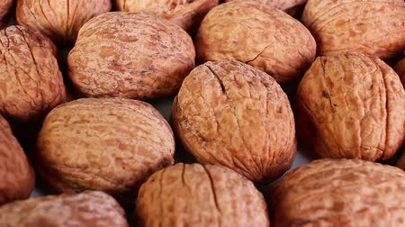 Walnut walnuts with shell