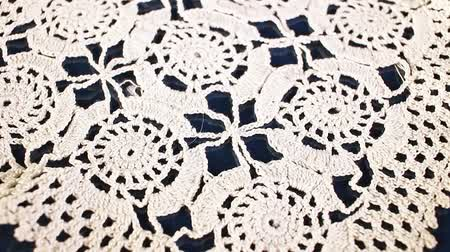 passatempos : Crochet thread cotton hand work Grandmas hobby