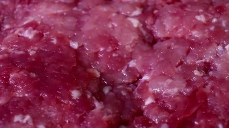 mbps : Minced meat mincemeat beef pork rotating closeup texture pattern background
