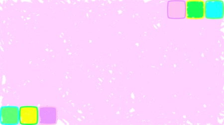 markalaşma : Bright cubes. Drawn seamless loop purple background Stok Video