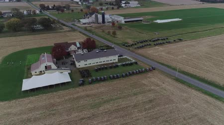 times : Amish Wedding in an Amish Farm Captured by a Drone