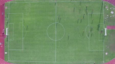 delirar : aerial view of the stadium during the match