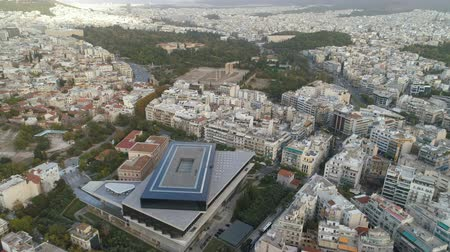 dionysus : Beautiful aerial cityscape of Athens with modern museum of Acropolis