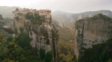evangelical : The UNESCO World Heritage listed greek-orthodox monasteries of Varlaam and Roussanou in Meteora, Greece