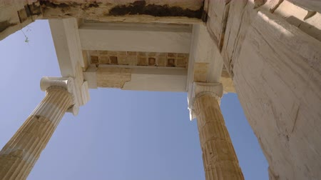reconstructed : movement through the Propylaea gate