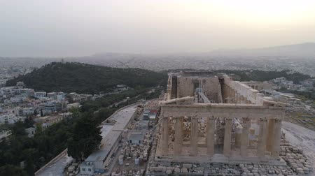 dionysus : Aerial view of Acropolis of Athens ancient citadel in Greece
