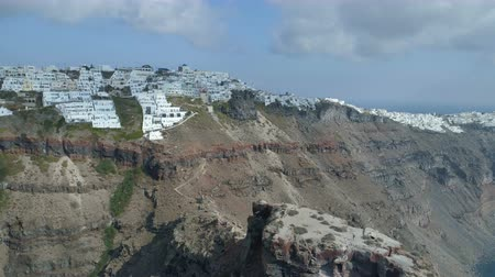 řek : Imerovigli village on the island of Santorini