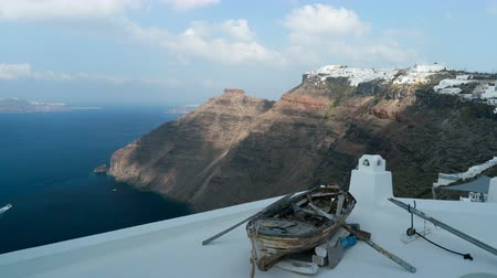 Эгейский : view from Thira to Imerovigli