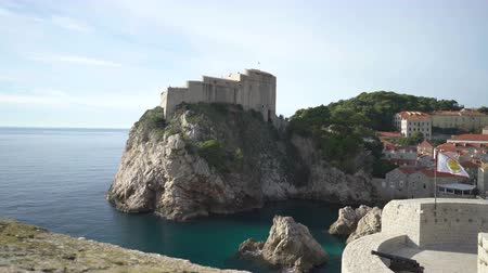fortificado : Fortress Lovrijenac in old city of Dubrovnik.
