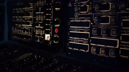 панель : Professional Board Control Panel in Submarine or Space ship with oxygen level