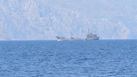 eksport : Uknown Ship Turkey coast view from the Greece