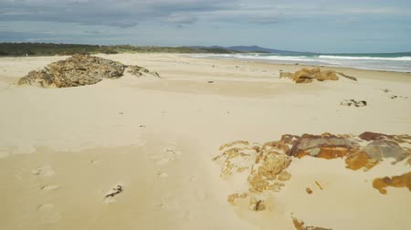 Dolly in shot of Paradise on earth at Mallacoota in Australia
