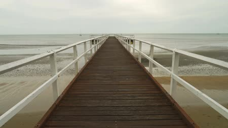 Torquay pier in Hervey bay in Queensland, Australia