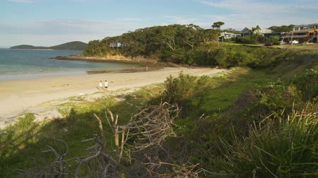 galler : Nelson Bay in Port Stephens in New South Wales, Australia