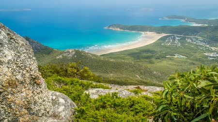 promontory : Wilsons prom stunning beaches and forests in Australia, zoom in