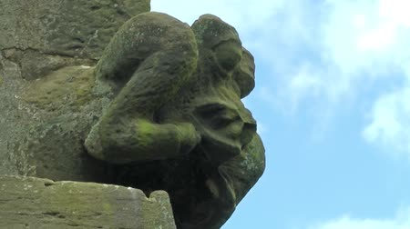 architectural protection : Church Gargoyle - St Lawrence Church, Gnosall, Staffordshire, England