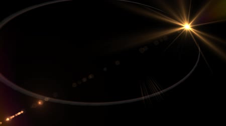 elementler : Lens Flare - Logo Element - Abstract Motion Background