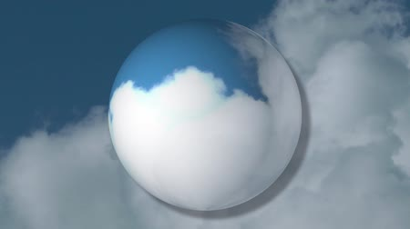 altostratus : Clouds and Globe Background