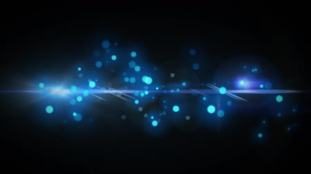 zauber : Blue Abstract Background mit Lens Flares Videos