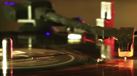 gravar : Record Turntable Stock Footage